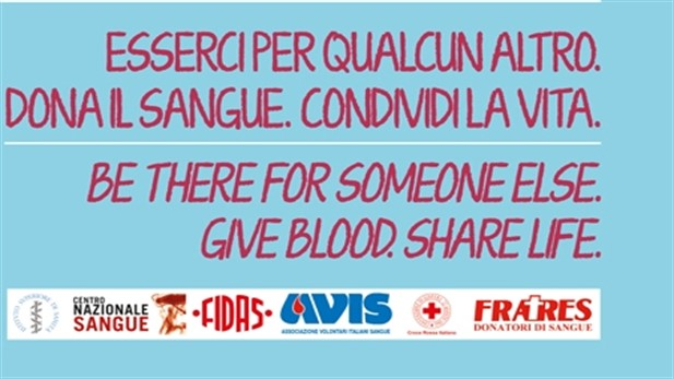 World Blood Donor Day, 14 giugno 2018