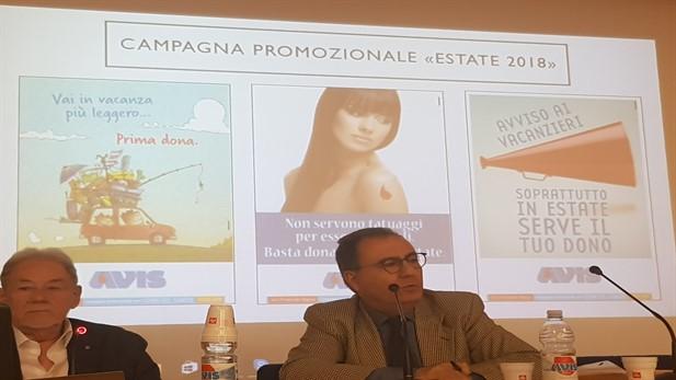 Presentata la Campagna Estiva con una Conferenza presso l'Avis di Ragusa
