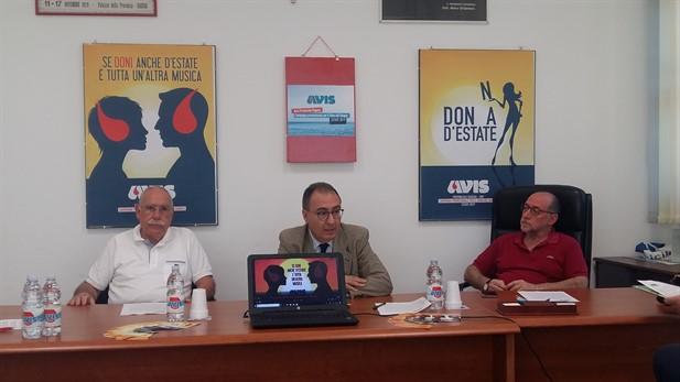 Campagna di promozione per il dono del sangue Avis Provinciale Ragusa- Estate 2019