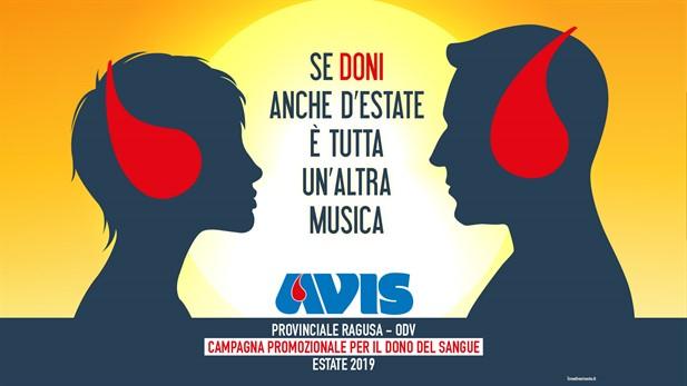 "Campagna Avis Provinciale  ""Estate 2019"""