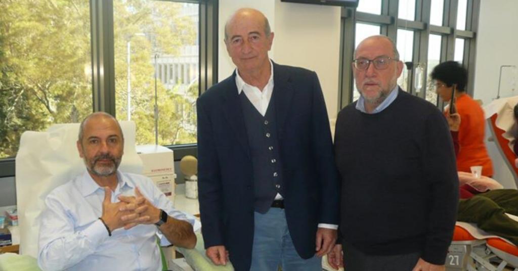 La donazione di San Valentino: una delegazione dell'ASP di Ragusa si è presentata all'Avis Comunale Ragusa